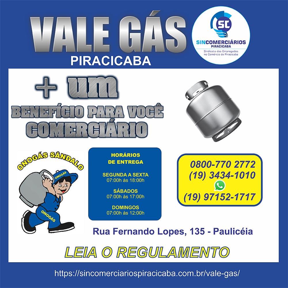 VALE GAS ONOGAS SANDALO